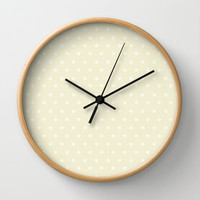 Polka Spots Wall Clock by Texnotropio