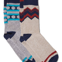 Organic Crew Socks: Soul Flower Clothing