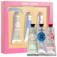 Sephora: L'Occitane : Happy Hands Trio : bath-gift-sets