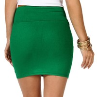 Pre-Order K. Green Basic Mini Skirt