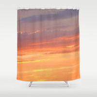 Berkshires Sunset IV Shower Curtain by CAPow!