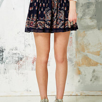 Staring at Stars Boho Smocked Skirt - Urban Outfitters