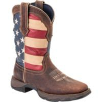 Durango Lady Rebel 10 in. Pull-On Flag Boot - Tractor Supply Co.
