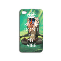 Disney iPhone Case Cute Phone Cover Funny iPod Case Rifiki Monkey Case Lion King Case 420 Phone Case iPhone 4 iPhone 4s iPhone 5 iPhone 5s