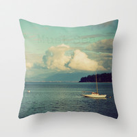 Must Sea Throw Pillow by RDelean