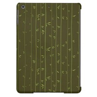 Bamboo Tree Leaf Apple iPad Air Cover