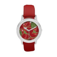 Watermelon - Red Wrist Watch