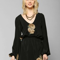 Stone Cold Fox Outlaw Silk Dress - Urban Outfitters