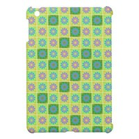 Graphic Flower Pattern Apple iPad Mini Case