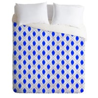 Holli Zollinger Dot Ikat Duvet Cover