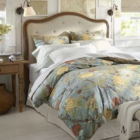 Wells Palampore Duvet Cover & Sham - Blue