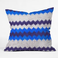Holli Zollinger Chevron Kilim Throw Pillow