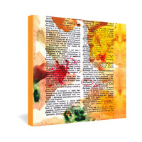 Susanne Kasielke Fortunate Dictionary Art Gallery Wrapped Canvas