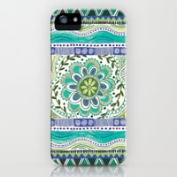 Boho Bloom iPhone & iPod Case by Janet Broxon