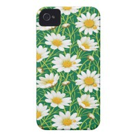Yellow Daisy Flower Apple iPhone 4 Case