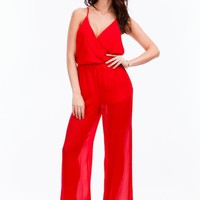 Rosalyn Wide Leg Jumpsuit