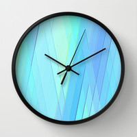 Re-Created Vertices No. 19 Wall Clock by Robert S. Lee