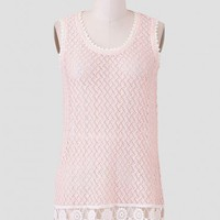 Viennese Pastries Crochet Blouse