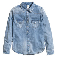 Denim Shirt - from H&M