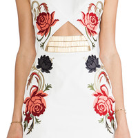 Sass & Bide Arm Yourself Dress in Ivory