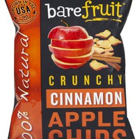 Bare Fruit All Natural Cinnamon Apple Chips, 1.69 oz, 10 pk