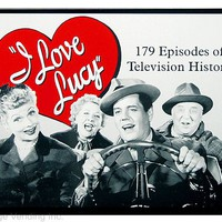 I Love Lucy Television History Tin Sign: Home & Business Decor with TV Star Metal Signs RetroPlanet.com