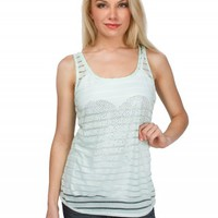 BOW BACK GRAPHIC TANK