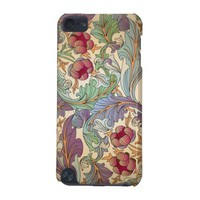 Vintage Floral Pattern Apple iPod Touch Case