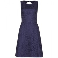 EYELET-COTTON DRESS
