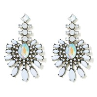 White Noise Earrings