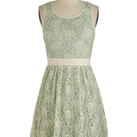 Floral Arrange-Mint Dress