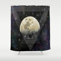 Feeling a little spacey today Shower Curtain by DuckyB (Brandi)
