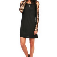 Captive Sleeve Dress | Trendy Clothes at Pink Ice