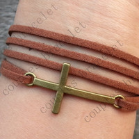 cross bracelet -Christmas gift - Best Chosen Gift