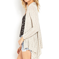 Delicate Draped Cardigan