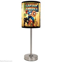Captain America Lamps Marvel Comic Lamp RetroPlanet.com