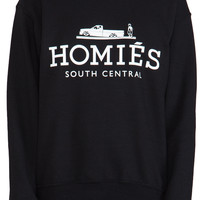 Brian Lichtenberg Homies Sweatshirt in Black/White from REVOLVEclothing.com