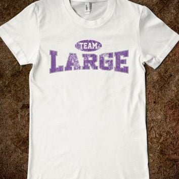 Ladies Vintage Retro Team Large Sexy T-Shirt