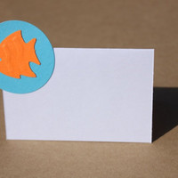 Fish Place Cards Birthday Wedding Bridal Shower by RoyalRegards