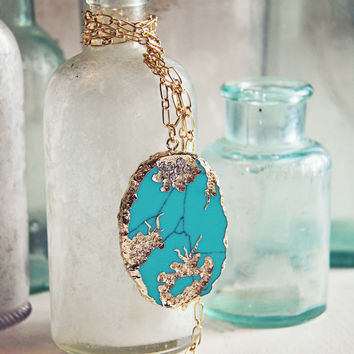 Gypsy Wind Turquoise Necklace
