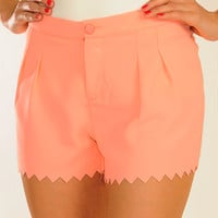 Oh My Peaches Shorts: Light Peach | Hope's