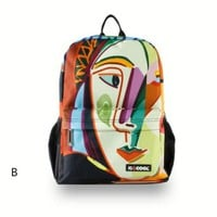 Picasso Abstract Painting Backpack B