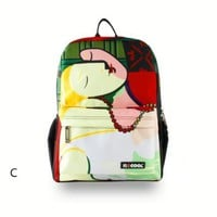 Picasso Abstract Painting Backpack C