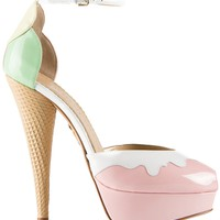 CHARLOTTE OLYMPIA 'Ice Cream' pump