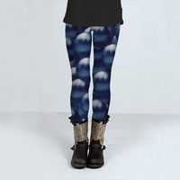 3D Bubbles by Daniel Ferreira-Leites (Leggings)