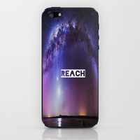 REACH iPhone & iPod Skin by Hoshizorawomiageteiru