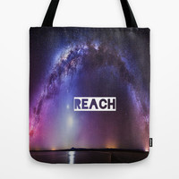 REACH Tote Bag by Hoshizorawomiageteiru