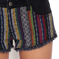 Vibrant Girl Denim Shorts