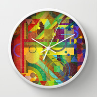 Future Patterns. Wall Clock by Nick Nelson