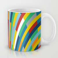 Rainbow Bricks #2 Mug by Project M